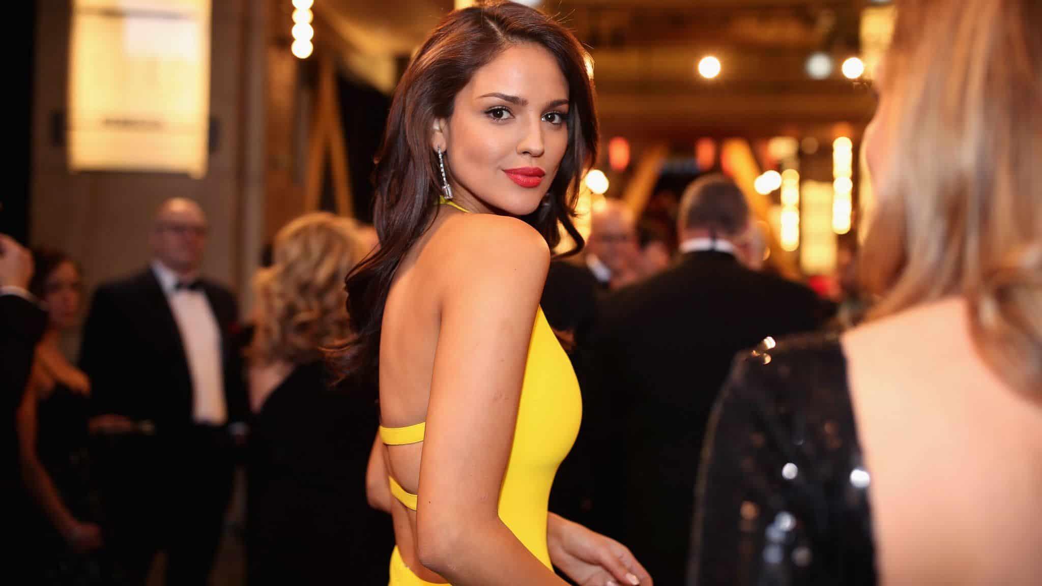 Eiza Gonzalez yellow dress