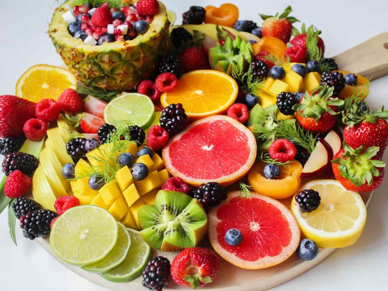 Fruits - hiatal hernia diet