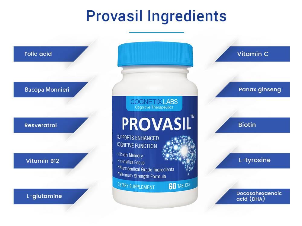 Provasil Ingredients