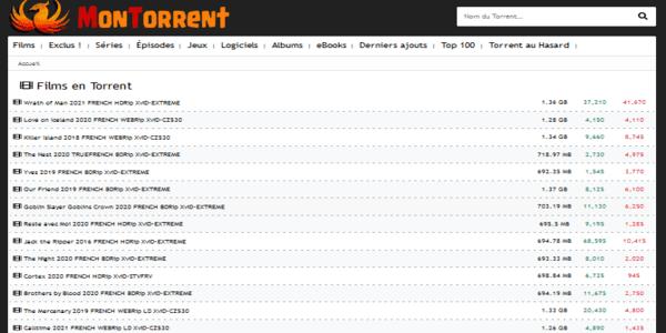 MonTorrent - cpasbien alternative