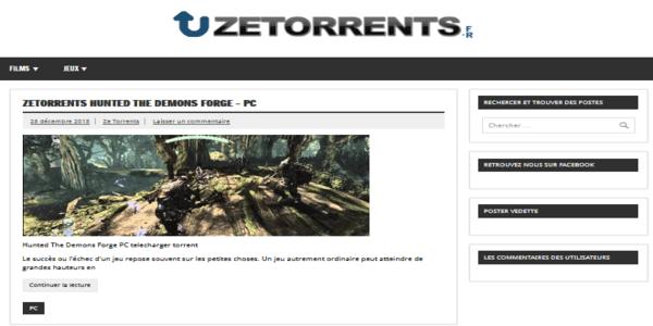 ZeTorrents - cpasbien