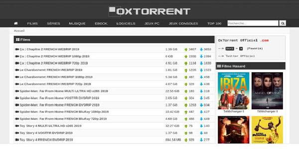 oxtorrent - cpasbien
