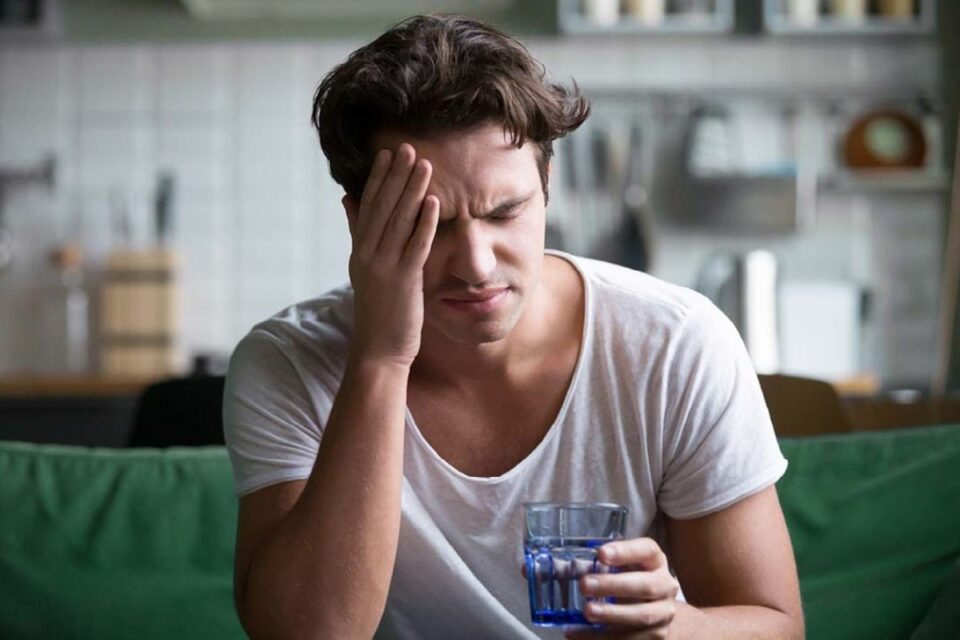 You are in the first phase of your sobriety - detoxing from alcohol
